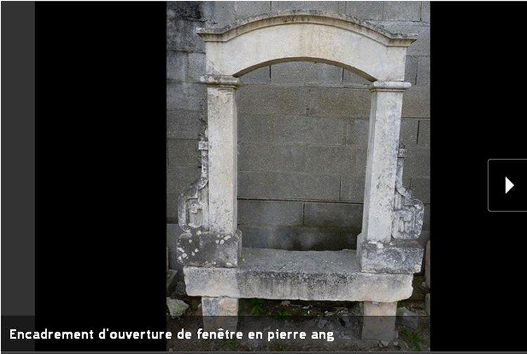 encadrements de portes de fen tres mat riaux anciens