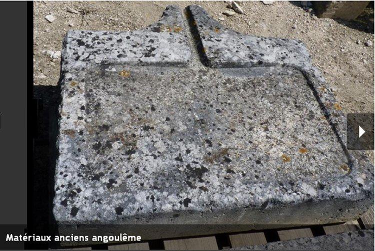 Viers eviers en pierre mat riaux anciens mat riaux d for Legens materiaux anciens indre et loire