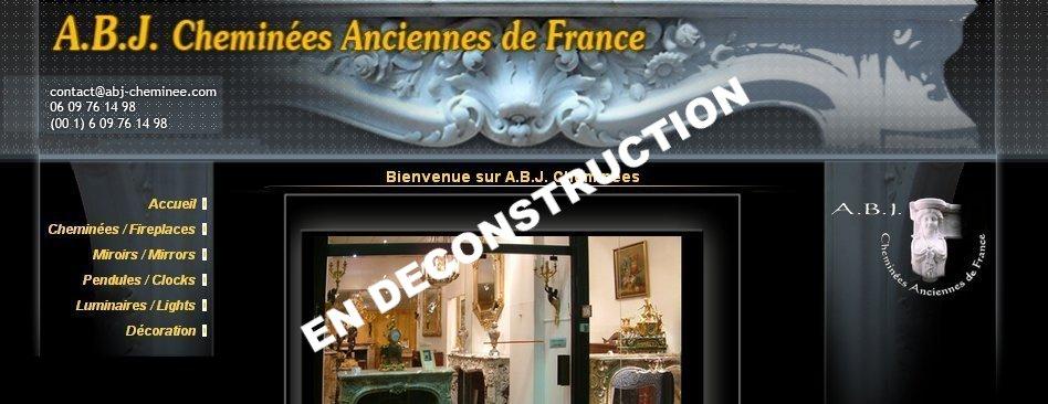 A.b.j. Cheminées Anciennes, Miroirs, Pendules, Luminaires, Décoration, Art  Antiquités, Art