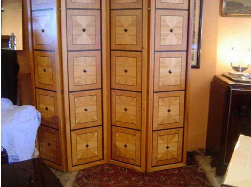 paravent art d co paravents art d co deauville art d co 1925 1930 1940. Black Bedroom Furniture Sets. Home Design Ideas